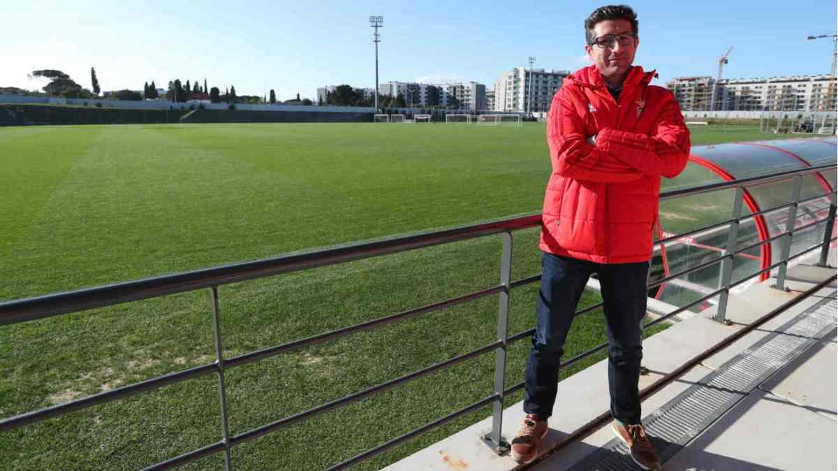 Luís Nascimento faz balanço à época dos Iniciados do Benfica