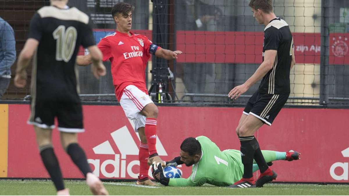 Derrota inesperadamente pesada em Amesterdão na UEFA Youth League